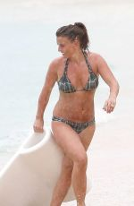COLEEN ROONEY in Bikini at a Beach in Barbados 05/20/2018