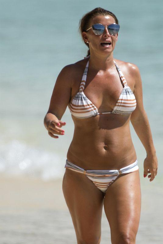 COLEEN ROONEY in Bikini at a Beach in Bridgetown 05/24/2018