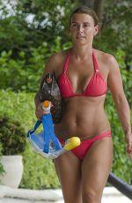 COLEEN ROONEY in Bikini at a Beach in Bridgetown 05/27/2018