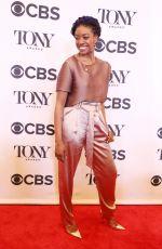 CONDOLA RASHAD at Tony Awards Nominees Photocall in New York 05/02/2018