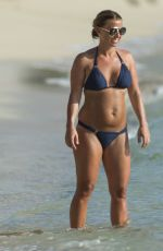 COOLEN ROOONEY in Bikini at a Beach in Barbados 05/27/2018