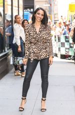 CORINNE FOXX at AOL Build Series in New York 05/15/2018