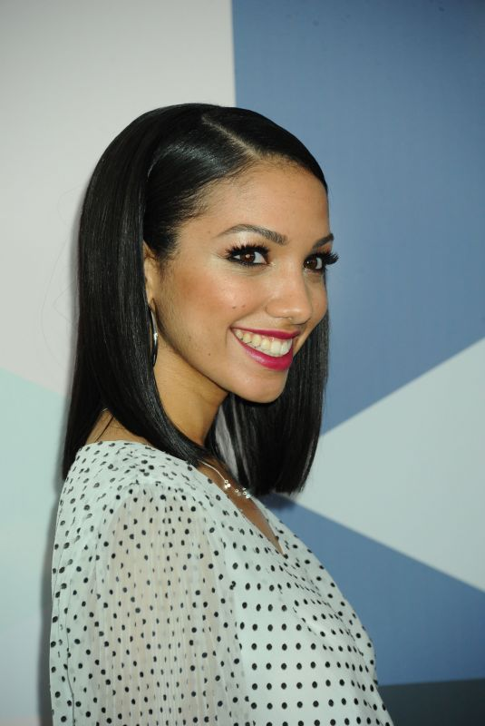 CORINNE FOXX at Fox Network Upfront in New York 05/14/2018
