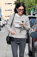 COURTENEY COX Out Shopping in West Hollywood 05/22/2018