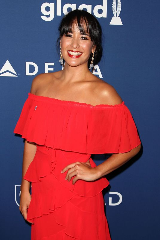COURTNEY REED at 2018 Glaad Media Awards in New York 05/05/2018