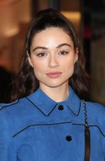 CRYSTAL REED at Longchamp Fifth Avenue Store Opening in New York 05/03/2018