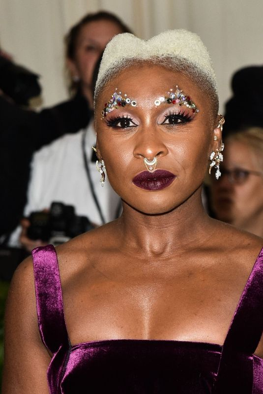 CYNTHIA ERIVO at MET Gala 2018 in New York 05/07/2018