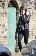 DAISY LOWE Out with Her Dog in London 05/03/2018