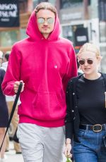 DAKOTA FANNING and Henry Frye Out in New York 05/10/2018