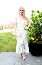 DAKOTA FANNING at Dujour Magazine Memorial Day Party in New York 05/26/2018