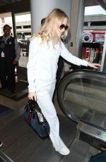 DAKOTA FANNING at Los Angeles International Airport 05/24/2018