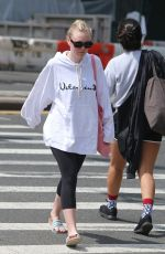 DAKOTA FANNING Out and About in New York 05/07/2018