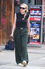 DAKOTA FANNING Out in New York 05/17/2018