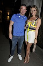DANIELLE LLOYD Night Out in Manchester 05/05/2018