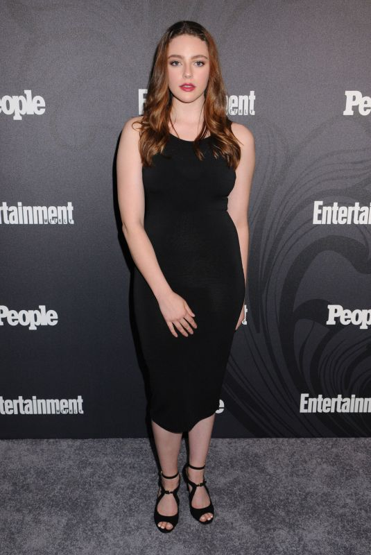 DANIELLE ROSE RUSSELL at EW & People New York Upfronts Celebration 05/14/2018