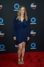 DANIELLE SAVRE at Disney/ABC/Freeform Upfront in New York 05/15/2018