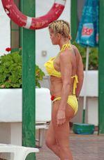 DANNIELLA WESTBROOK in Bikini at a Pool in Spain 05/28/2018
