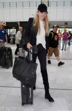 DAPHNE GROENEVELD at Nice Airport 05/18/2018