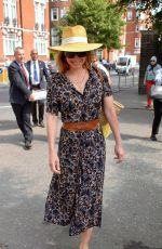 DARCY BUSSELL at Chelsea Flower Show in London 05/21/2018