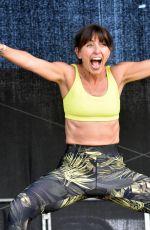 DAVINA MCCALL at Welfest Fitness Festival in Dublin 05/13/2018