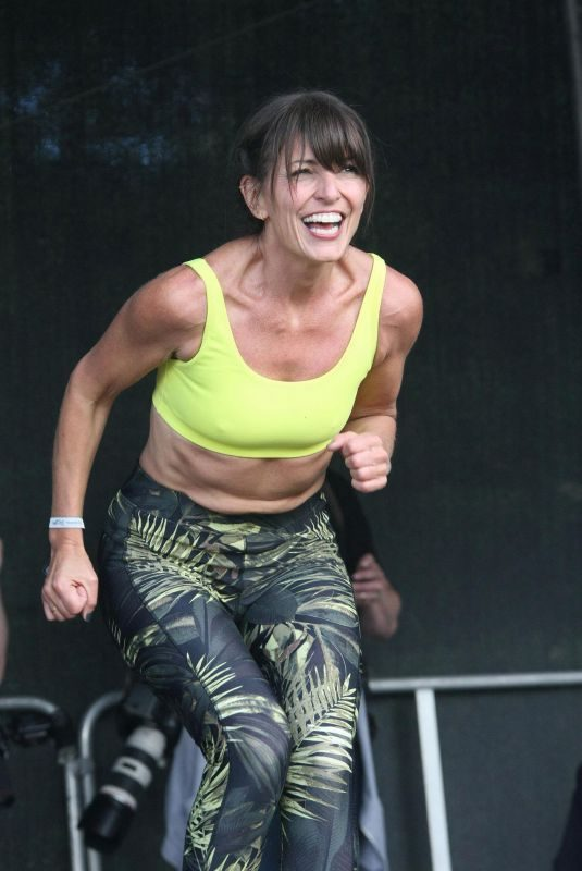 DAVINA MCCALL at Welfest Fitness Festival in Dublin 05/13/2018