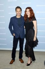 DEBRA MESSING at NBCUniversal Upfront Presentation in New York 05/14/2018