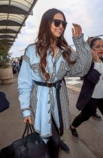 DEEPIKA PADUKONE Arrives at Nice Airport 05/09/2018