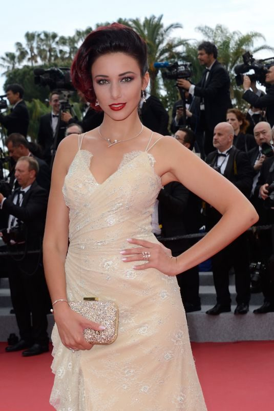 DELPHINE WESPISER at Yomeddine Premiere at Cannes Film Festival