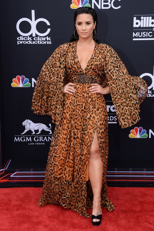 DEMI LOVATO at Billboard Music Awards in Las Vegas 05/20/2018