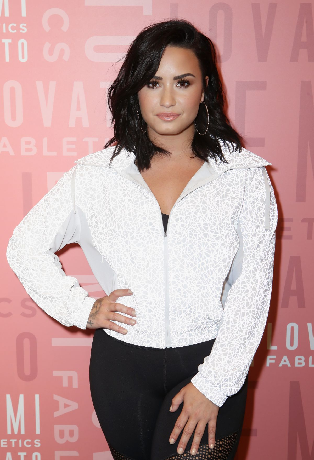 5576a7b7c92c8 DEMI LOVATO at Fabletics Event in Westfield Topanga 05 18 2018