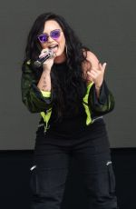 DEMI LOVATO Performs at BBC Biggest Weekend Festival in Swansea 05/272018