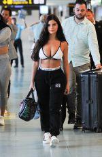 DEMI ROSE MAWBY Arrives in Ibiza 05/10/2018