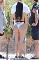 DEMI ROSE MAWBY in Swimsuit on the Set of a Photoshoot in Ibiza 05/25/2018