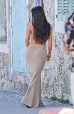 DEMI ROSE MAWBY on the Set of a Photoshoot in Ibiza 05/13/2018