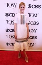 DENISE GOUGH at Tony Awards Nominees Photocall in New York 05/02/2018