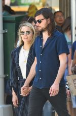 DIANNA AGRON and Winston Marshall Out in New York 05/23/2018