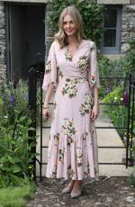 DONNA AIR at Chelsea Flower Show in London 05/21/2018