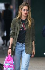 DOUTZEN KROES Out and About in New York 05/04/2018