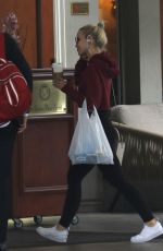 DOVE CAMERON Out for a Coffee in Los Angeles 05/20/2018