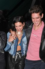 DUA LIPA and Isaac Carew Out in London 05/30/2018