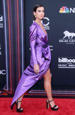 DUA LIPA at Billboard Music Awards in Las Vegas 05/20/2018