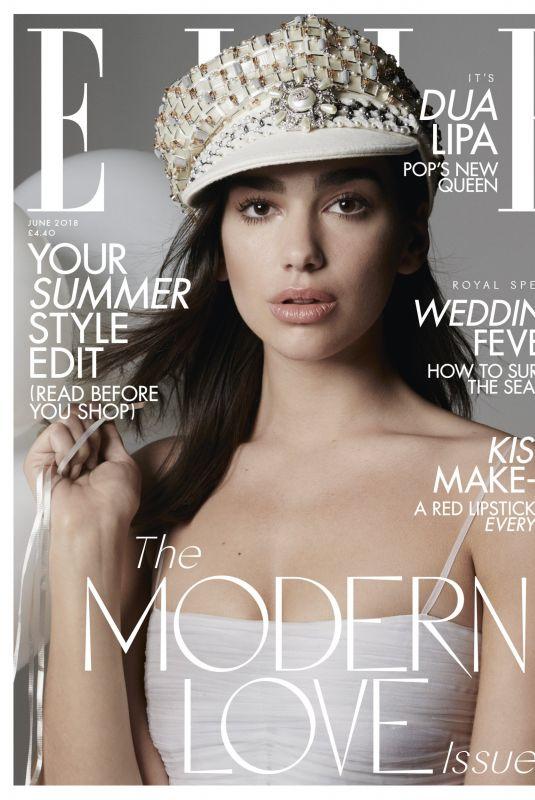 DUA LIPA in Elle Magazine, June Issue 2018