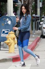 EIZA GONZALEZ in Tights Out in Studio City 05/21/2018