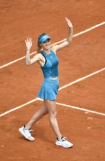 ELINA SVITOLINA at French Open Tennis Tournament in Paris 05/30/2018