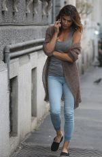 ELISABETTA CANALIS on the Set of a Photoshoot in Milan 05/15/2018