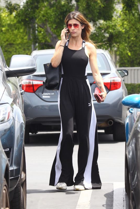 ELISABETTA CANALIS Shopping at Fred Segal in West Hollywood 05/09/2018