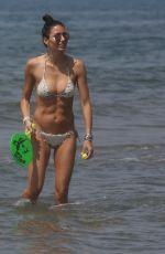 ELISABETTA GREGORACI in Bikini at Beach in Marina di Pietrasanta 05/27/2018