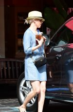 ELIZABETH BANKS Out for Coffee in Los Angeles 05/06/2018