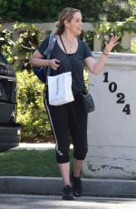 ELIZABETH BERKLEY Out and About in Beverly Hills 05/04/2018