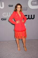 ELIZABETH GILLIES at CW Network Upfront Presentation in New York 05/17/2018